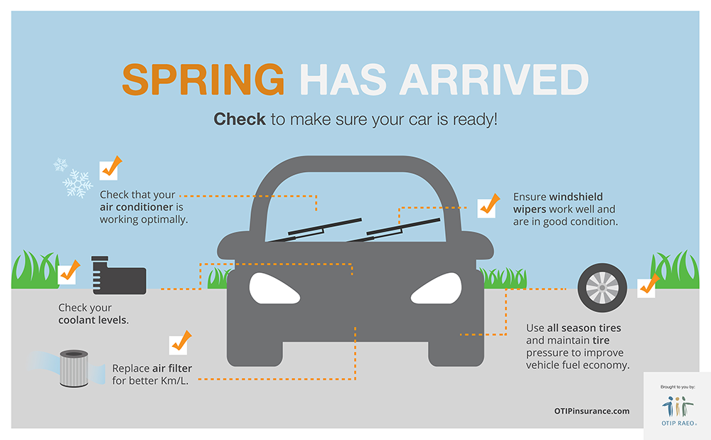 Spring car tune-up