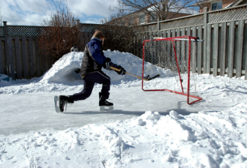 Planning to build a backyard ice rink? Skate smoothly with these safety tips